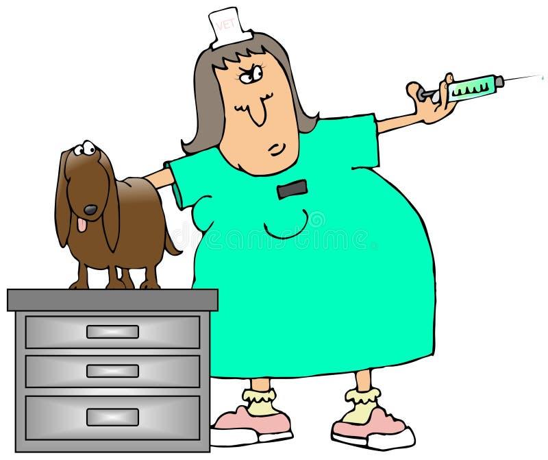 lekarz weterynarii technika ilustracji