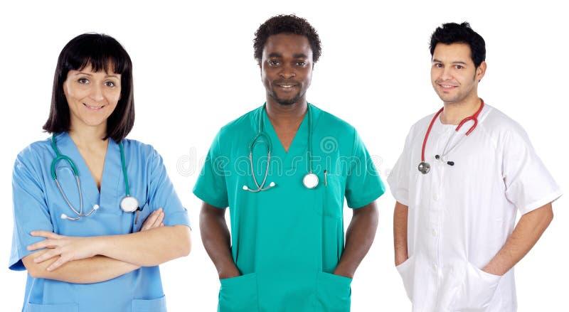 lekarz zespołu young fotografia stock