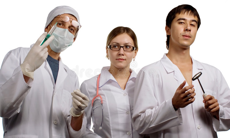 lekarze obrazy royalty free