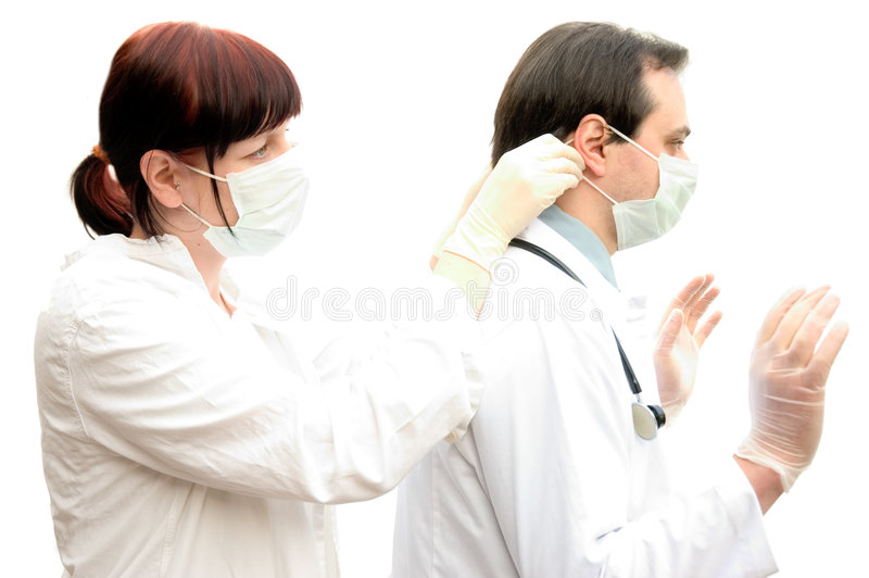 Download Lekarze zdjęcie stock. Obraz złożonej z lekarki, stażysta - 719304