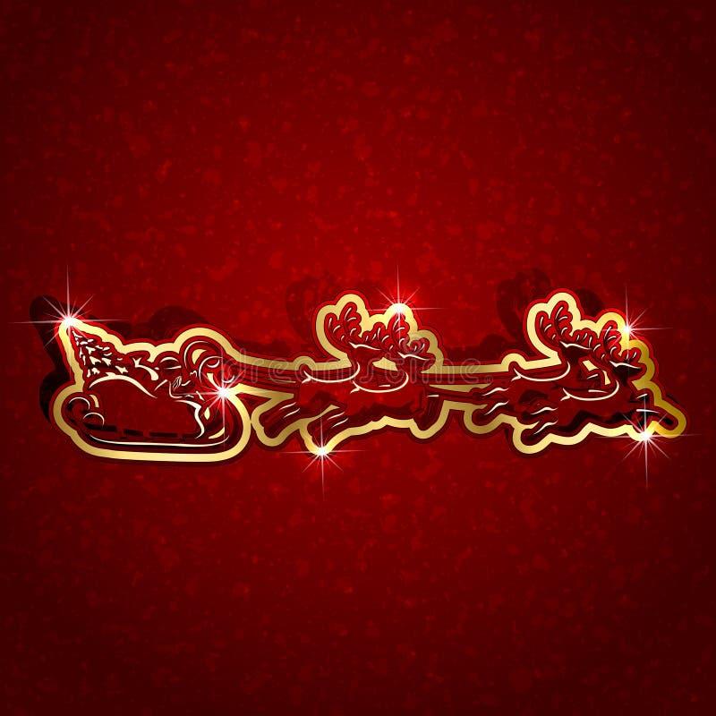 lekceważący Boże Narodzenie papier royalty ilustracja