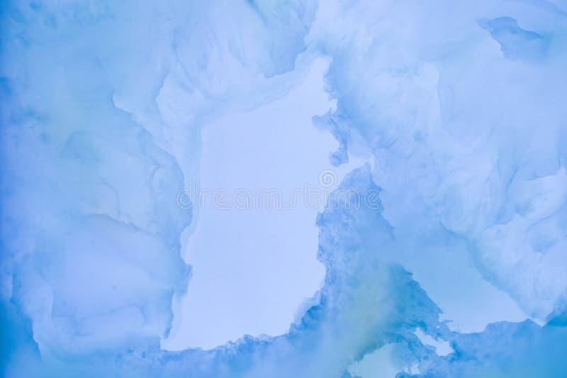 Lekceważący zamazany rozjaśniający plasterka marmur zdjęcie stock