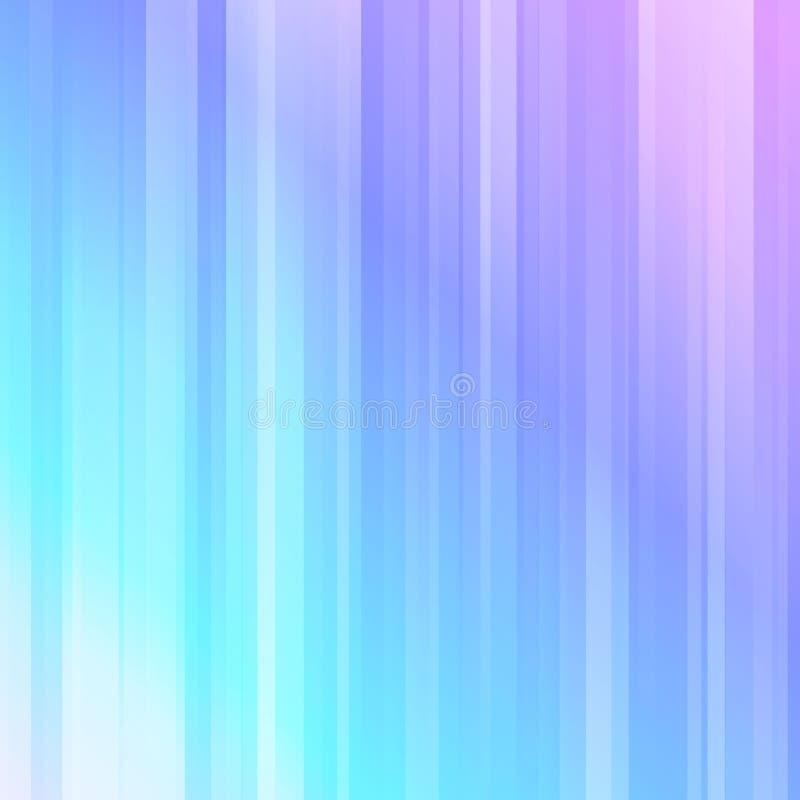 Lekcy promienie, abstrakcjonistyczny geometryczny kolorowy tło ilustracja wektor
