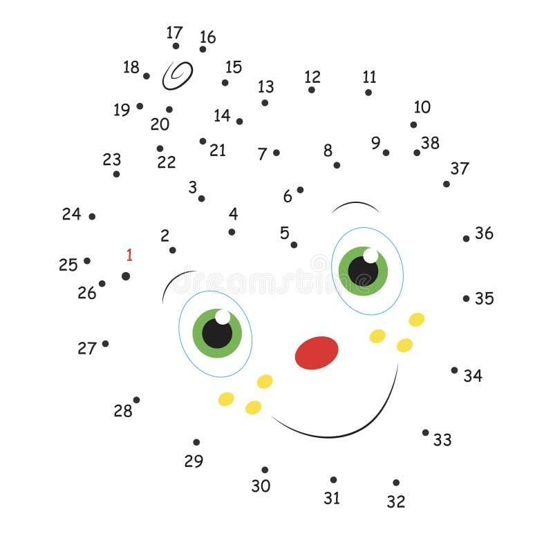 Leken av prickarna, jordgubben arkivfoton