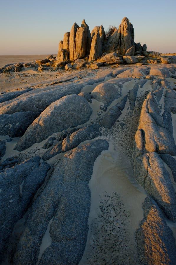 Free Lekhubu Island, Makgadikgadi Stock Images - 12262214
