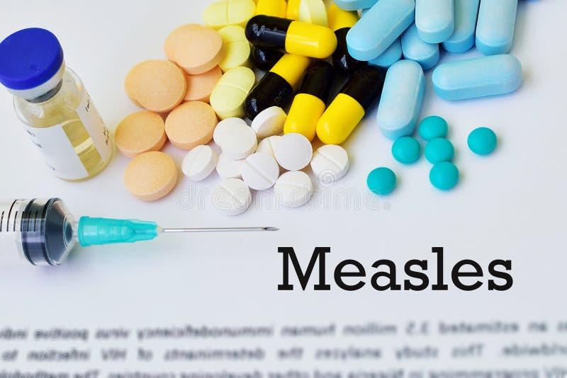 Leki dla odra wirusa traktowania obrazy royalty free