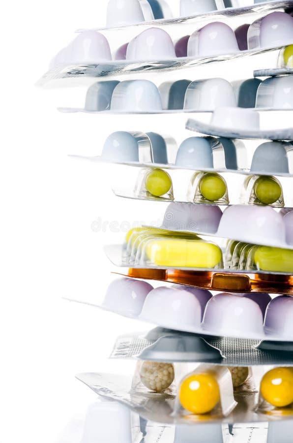 Leki z kopii przestrzenią obrazy stock