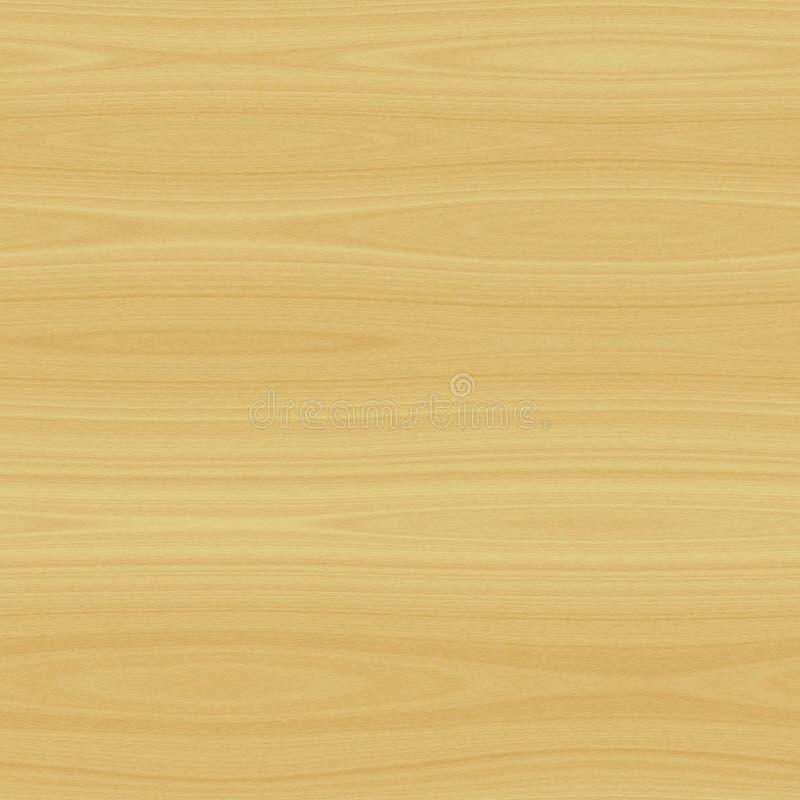 Lekka drewniana tekstura odpłaca się bezszwowego wzór ilustracja wektor