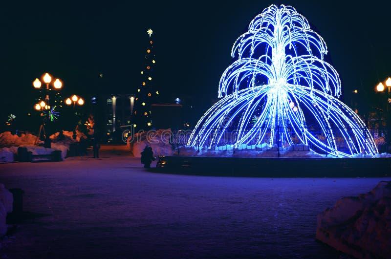 Lekka fontanna obrazy stock