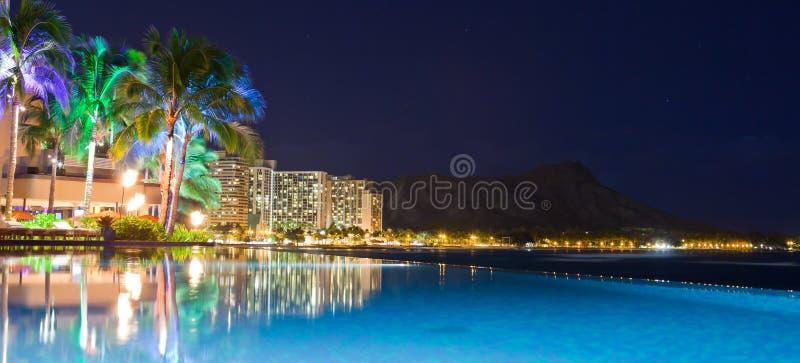 lekka Hawaii noc fotografia stock