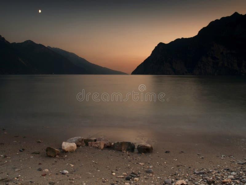 lekka księżyca zdjęcie royalty free
