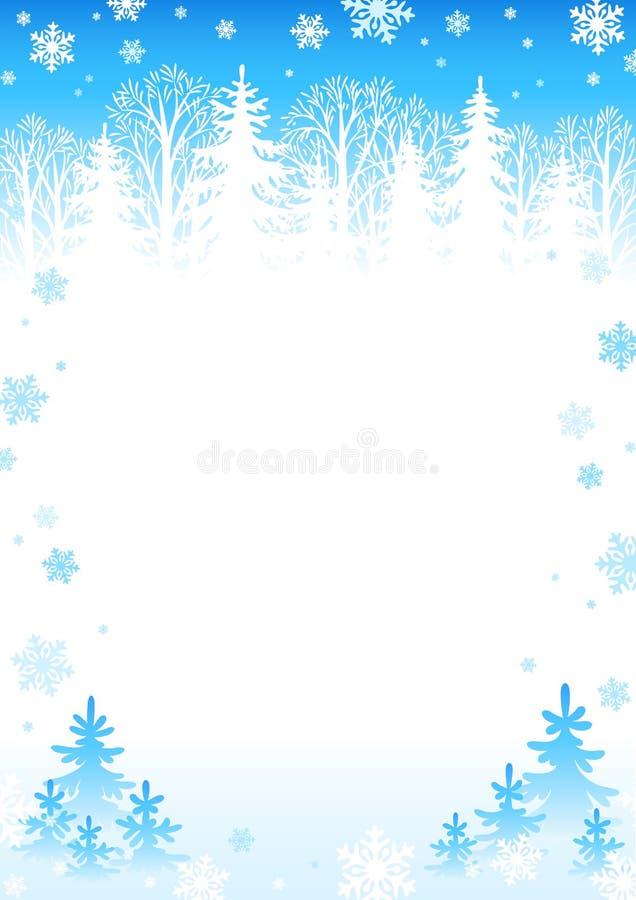 lekka tło zima ilustracja wektor