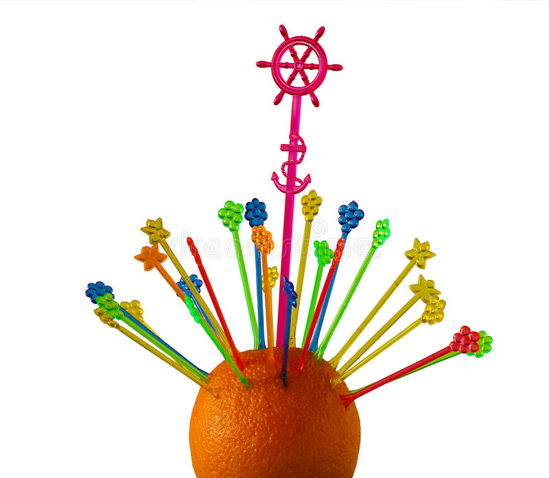 Lekke sinaasappel royalty-vrije stock fotografie