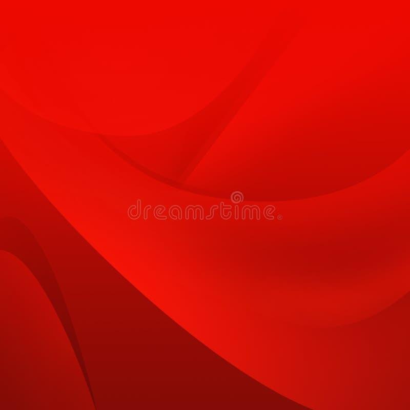 Lekki Abstrakcjonistyczny czerwonej linii tło zdjęcie stock