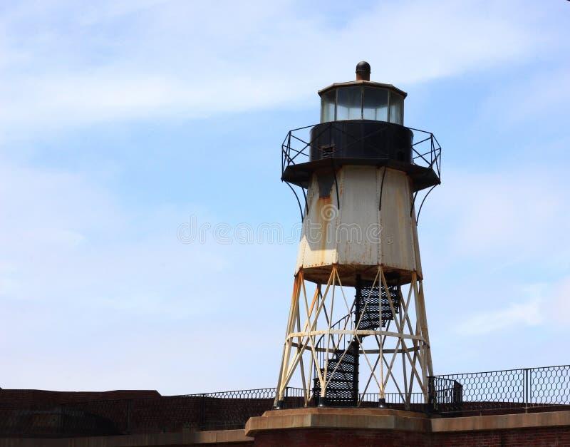 Lekki dom na fortu punkcie obok Golden Gate Bridge obrazy royalty free