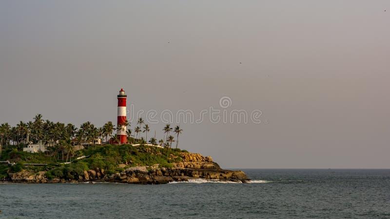 Lekki dom przy Kovalam, Trivandrum - światło dzienne obrazy royalty free