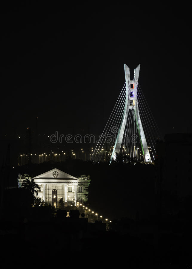 Free Lekki-Ikoyi Link Bridge Royalty Free Stock Image - 57997526