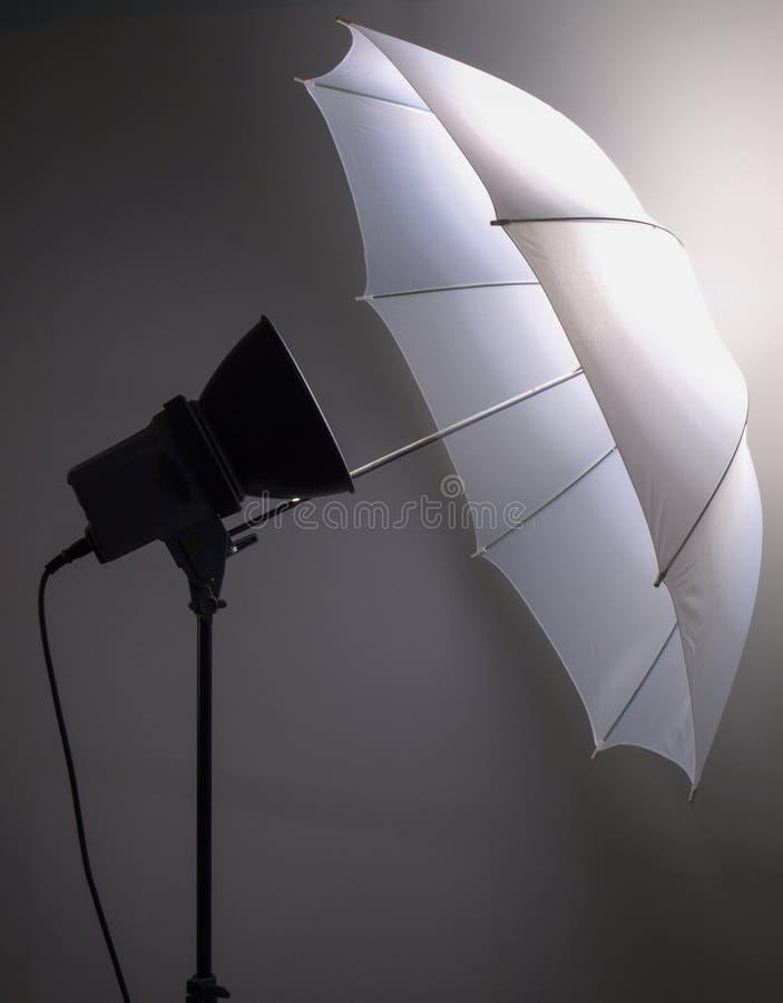 Lekki parasol zdjęcie stock