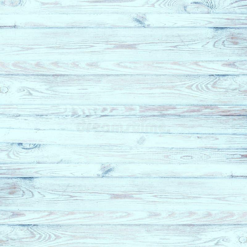 Lekki turkus Malujący rocznika drewno obrazy royalty free