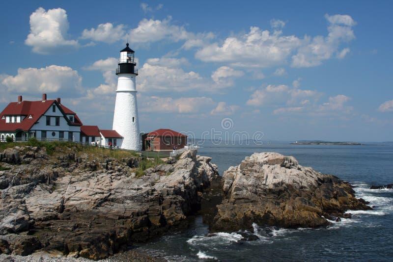 lekkie głowy Maine Portland zdjęcia royalty free