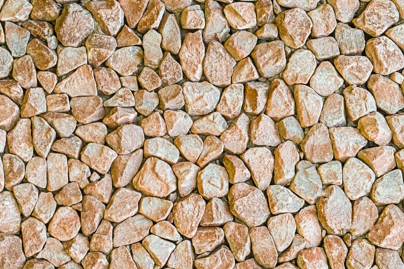 Lekkiej be?owej granitu kamienia t?a mocno powierzchni bazy projekta monochromu nier?wnej miastowej bazy mini kamienie obraz stock