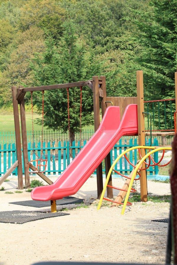 Download Lekplats fotografering för bildbyråer. Bild av rekreation - 78725625
