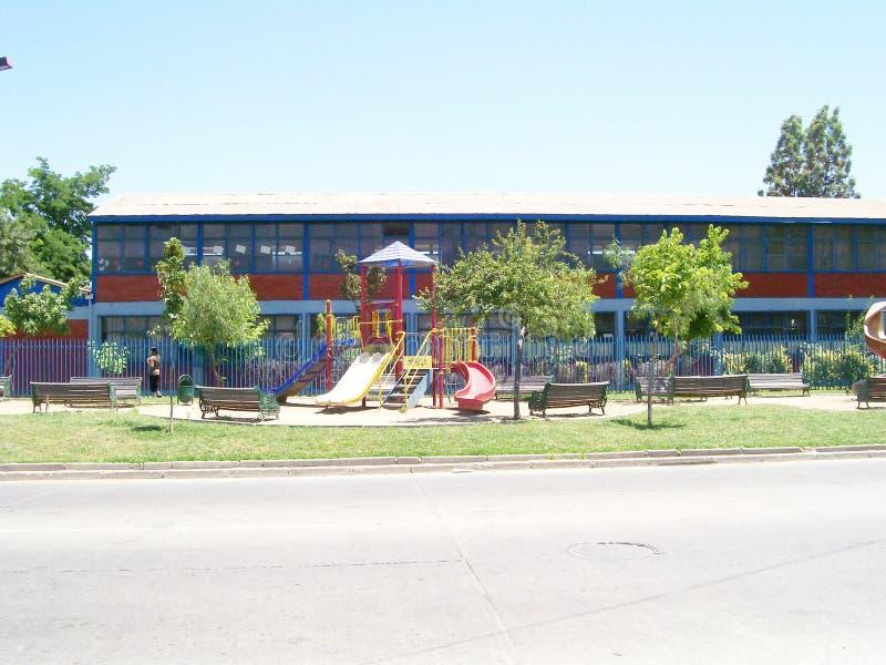 Lekplats för barn royaltyfri fotografi