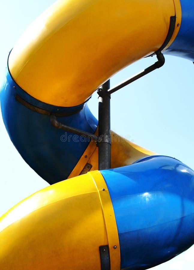 Download Lekplatsglidbana arkivfoto. Bild av gyckel, bana, yellow - 229262