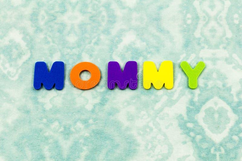 Leksak för skum för pass för familj för mammamammamoder royaltyfri bild