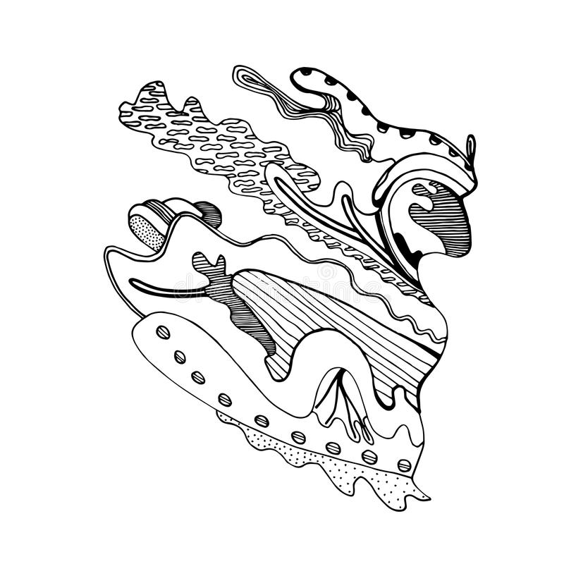 Leksak stiliserad häst royaltyfria bilder