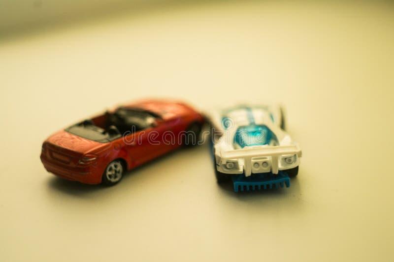 Leksakbilmodeller arkivfoton
