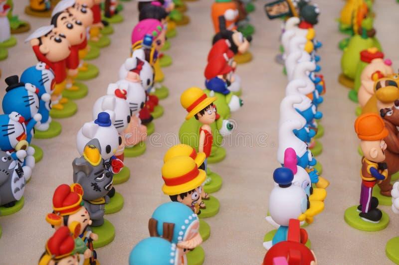 Leksakdockor fotografering för bildbyråer