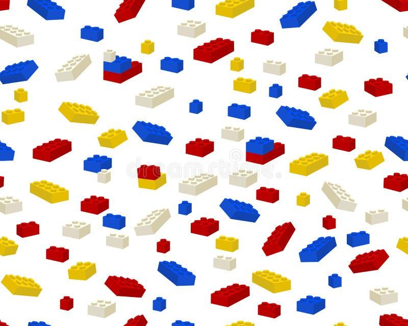 Leksaktegelstenar arkivbild