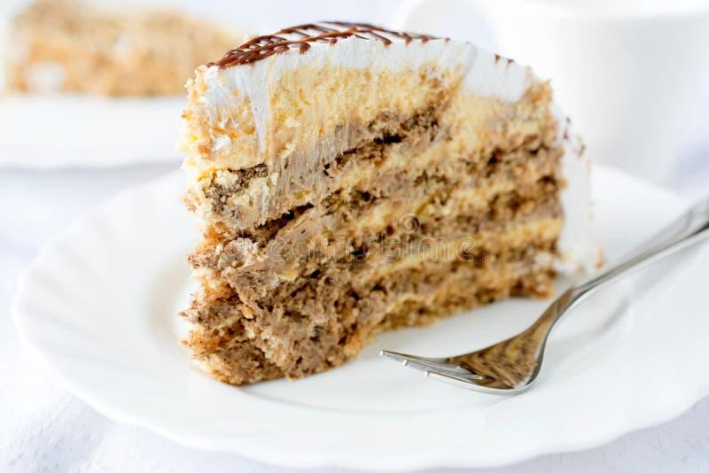 Lelijke cake stock fotografie