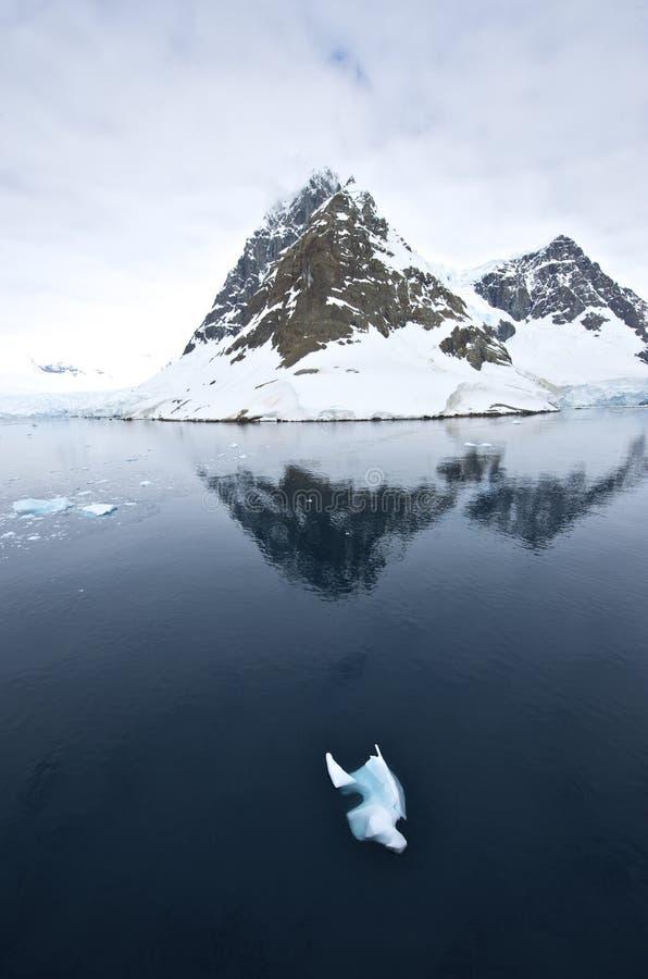 Lemaire Kanal Antarktik stockbild