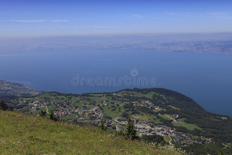 Download The Leman Lake, Evian, France Stock Image - Image: 26547719