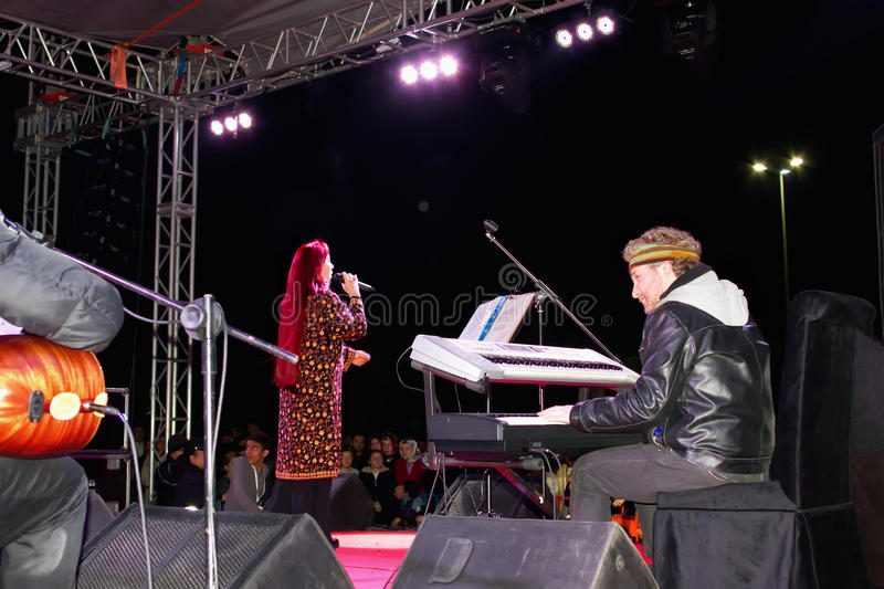 Download Leman Sam on stage editorial stock photo. Image of ginger - 20690613