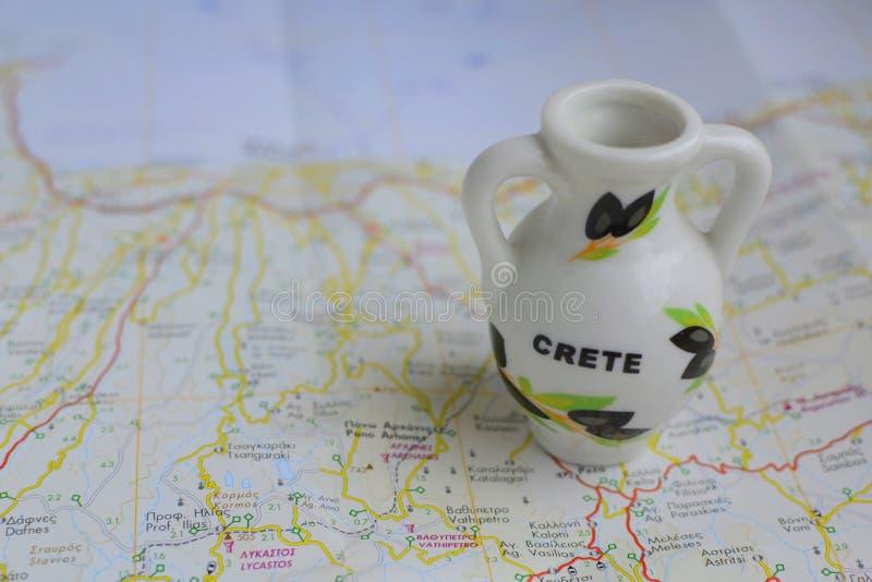 Lembrança de Grécia, Creta imagens de stock