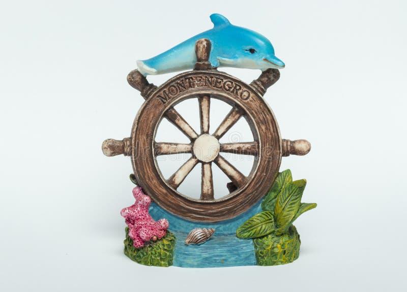 Lembrança do golfinho fotografia de stock