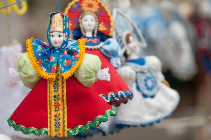 Lembrança do traje do nacional do russo imagem de stock royalty free