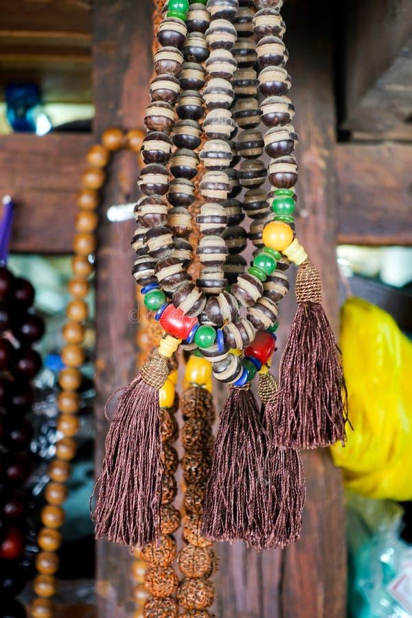 Lembranças coloridas de pedras preciosas imagens de stock