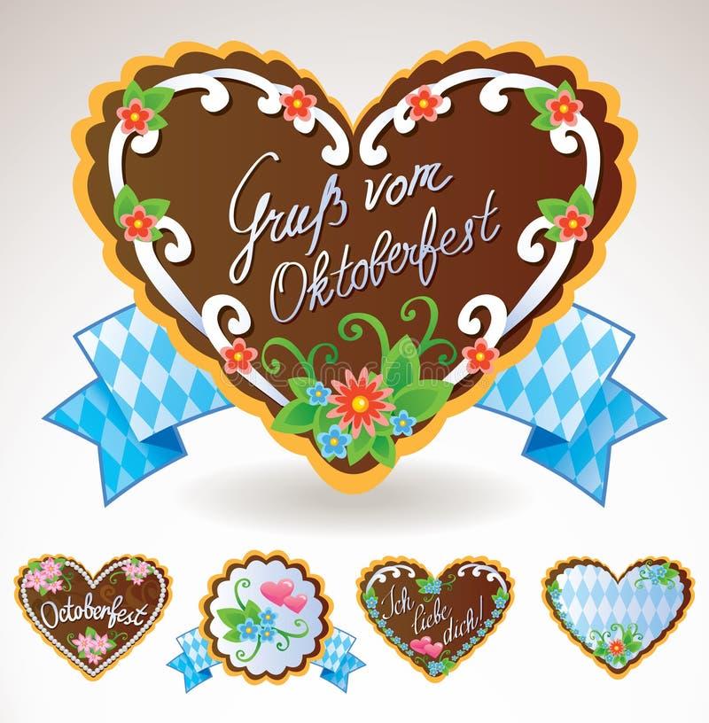 Lembranças de Oktoberfest ilustração royalty free