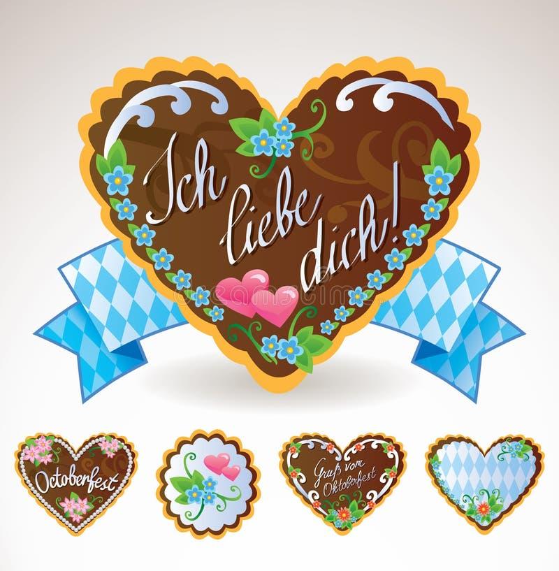 Lembranças de Oktoberfest ilustração stock