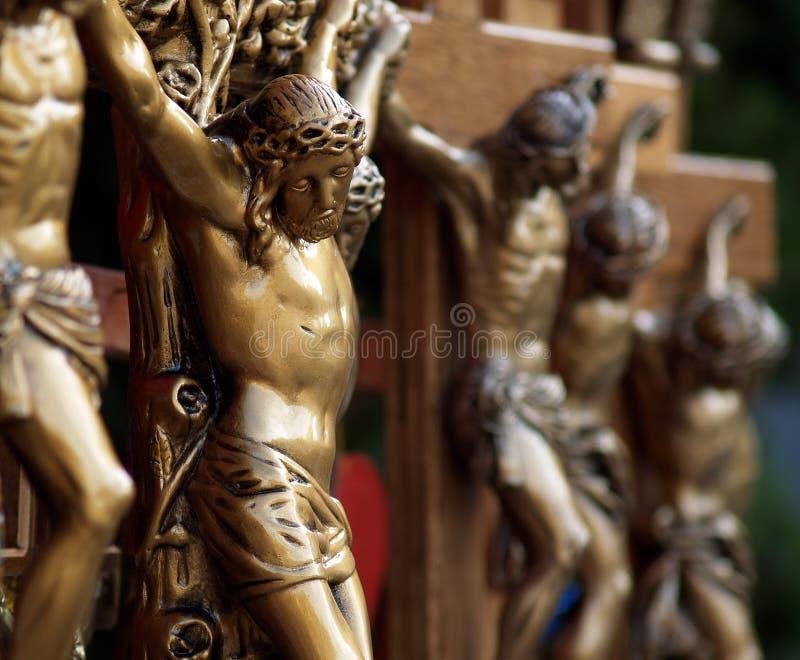 Lembranças do figurine de Jesus foto de stock royalty free