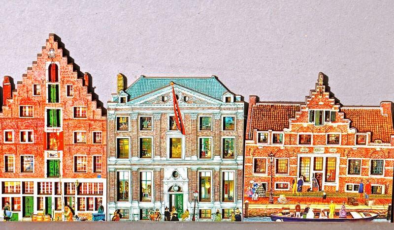 Lembranças holandesas da casa imagens de stock