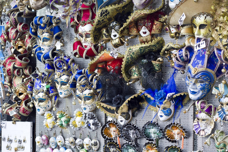 Lembranças Venetian foto de stock