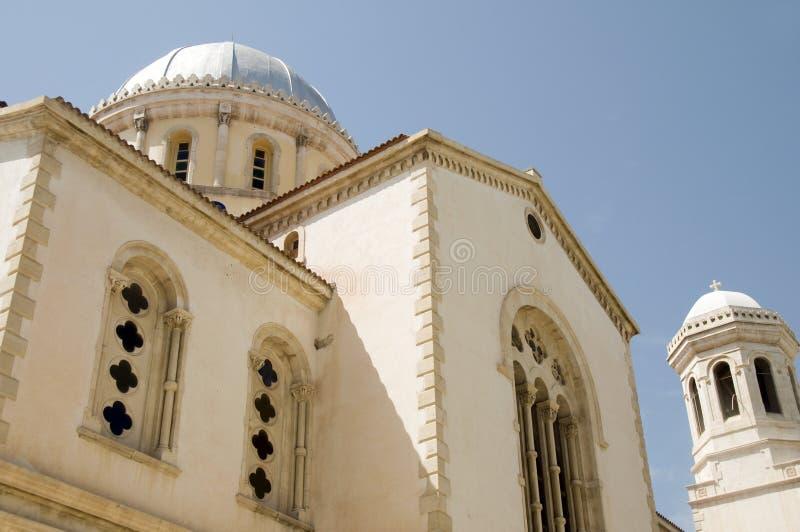 Lemesos orthodoxes grecs Chypre de napa d'ayia de cathédrale photos stock