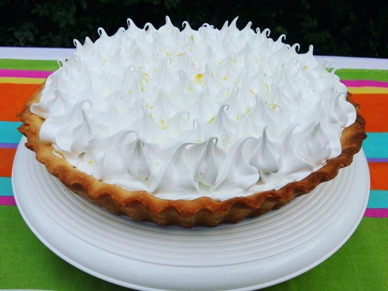 Lemom-Torte lizenzfreie stockbilder