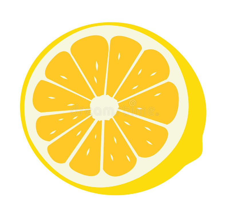 Lemon royalty free illustration