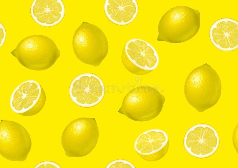 Lemon on background stock images
